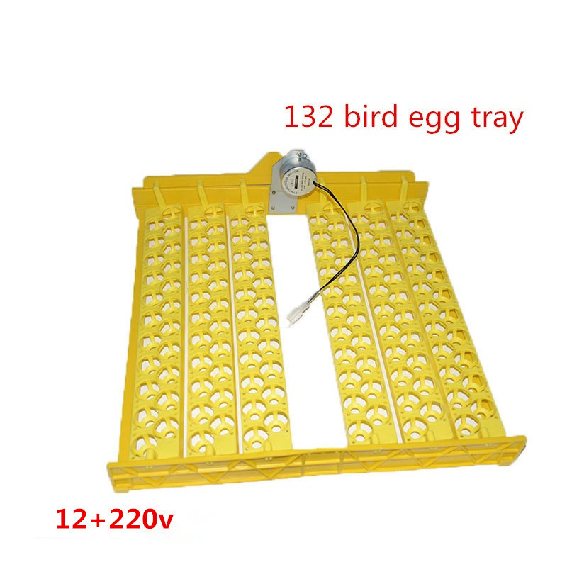 ФОТО Digital egg incubator full automatic egg incubator for132bird quail egg tray