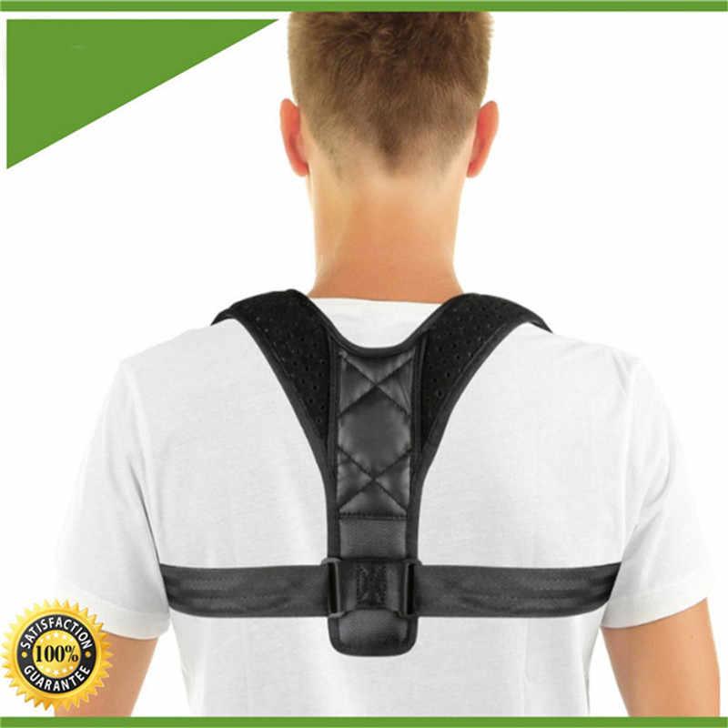 뒤로 자세 교정기 교정 교정 척추 교정기 스크럽 바디 트리트먼트 도구 쇄골 지지대