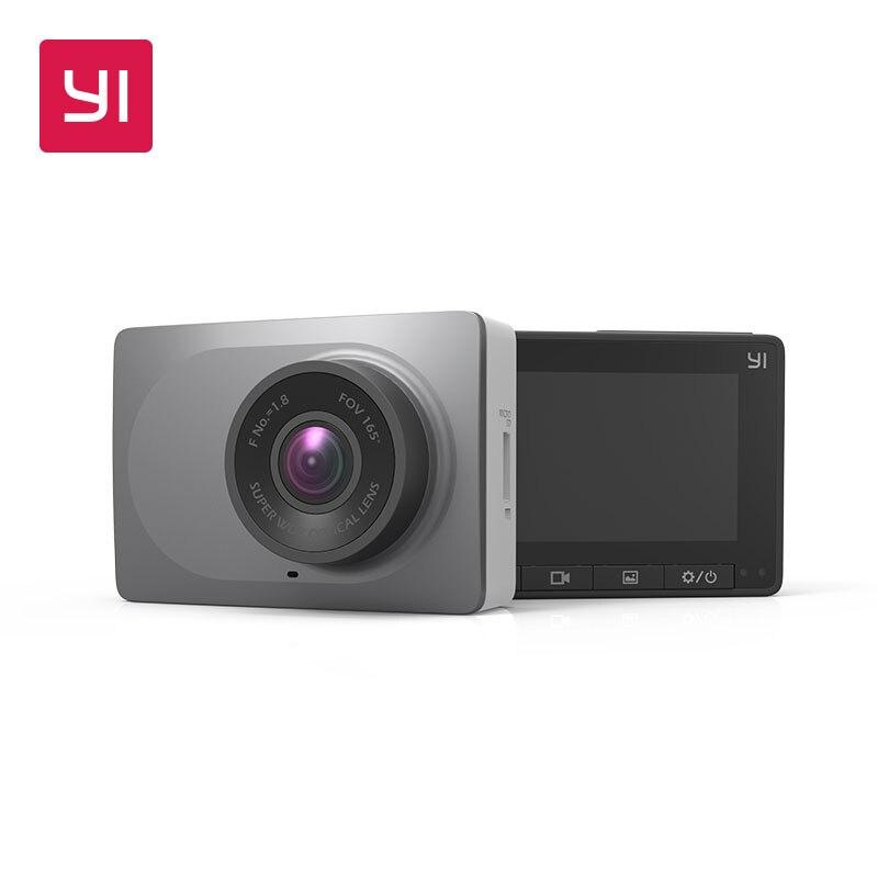 YI умная камера с 16 г 2,7 экран Full HD 1080 P 60fps 165 градусов широкоугольный автомобиль камера для приборной панели с g-сенсором ночного видения ADAS