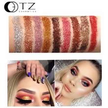 9 Colors Glitters Eye shdow Palette Rainbow Diamond Pressed Glitters Eyeshadows Palette Cosmetic Make Up Glitterinjections TZ