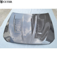 F10 F18 5 series M5 style Carbon Fiber Front Engine Hood Cover for BMW 5 series F10 M5 engine bonnet 11 15