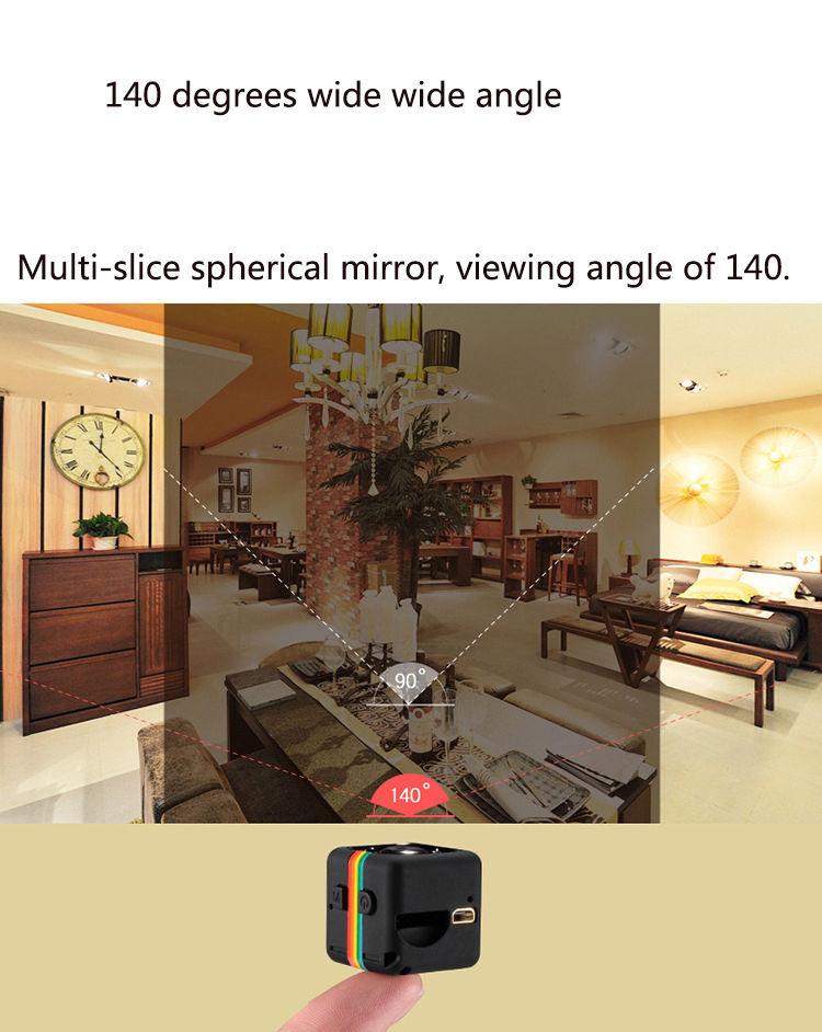 SQ11 mini cámara HD 960P 17