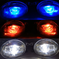 2PCS Devil Eye Super Bright LED Fog Light For Nissan Qashqai Altima Maxima Sentra Pathfinder 2004 2015 8W