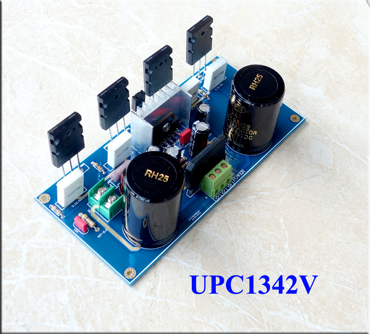 220 w 2sc5200 Upc1342v 2sa1942 a7 Hifi Amplificador Board Dupla ac 18 36 v Mono