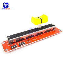 Slide Potentiometer 10K Ohm Linear Module Analog Sensor Dual Output for Arduino AVR Electronic Block Potentiometer Pot