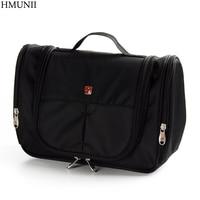HMUNII Brand Men Women Travel Wash Toiletry Cosmetics Bag MakeUp Organizer Shaving Kit Large Capacity Multifunction