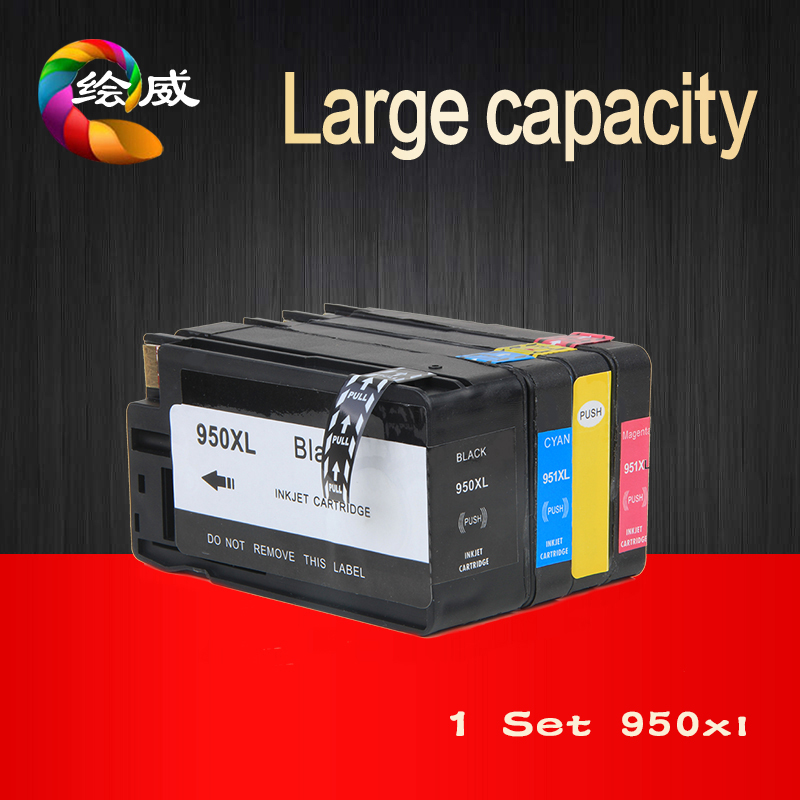 4 Pack Ink Cartridge for HP 950 951xl Compatible for HP Officejet Pro 8600 8620 8630