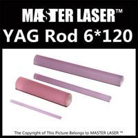 Good Quality Laser Welding Machine 1064nm nd: Yag Rod 6mm Dia 120mm Length nd: Yag Laser Rod