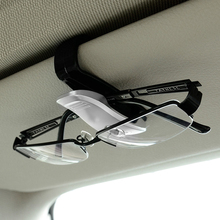 Sunglasses Holder Cases Card-Clamp Ticket Car-Sun-Visor Cip ABS Fastener Portable