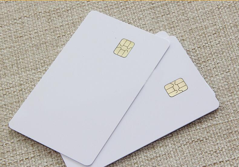 SLE4442 Contact Smart IC Small Chip Card For ID Printer Printable