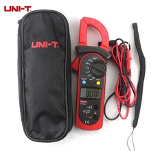 UNI-T UT202A Digital Clamp Multimeter Manual Range Low Voltage Protection LCD   DC AC Diode Tester Test Leads Probe Handheld