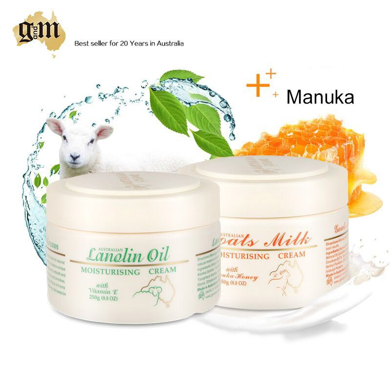 Australia GM Skincare Seat Goats Milk Manuka Honey +Lanolin Oil Cream, prevents dehydration, soften rejuvenate moistur skin 5010s dc 12v 0 1a brushless cooling fan 4 2cm diameter page 1