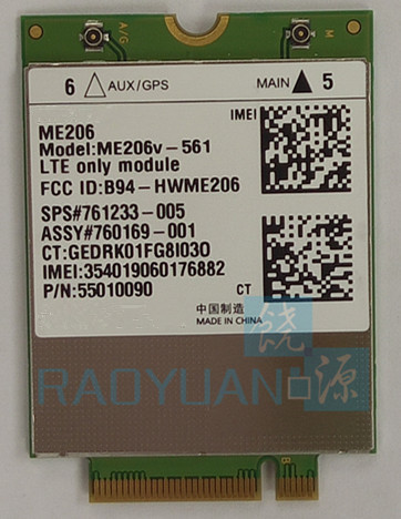 4G LTE Card for HUAWEI ME206 ME206v 561 SPS 761233 005 LTE FDD B2 B4 B5 B13 B17 FDD Modems 4G Card in 3G Modems from Computer Office