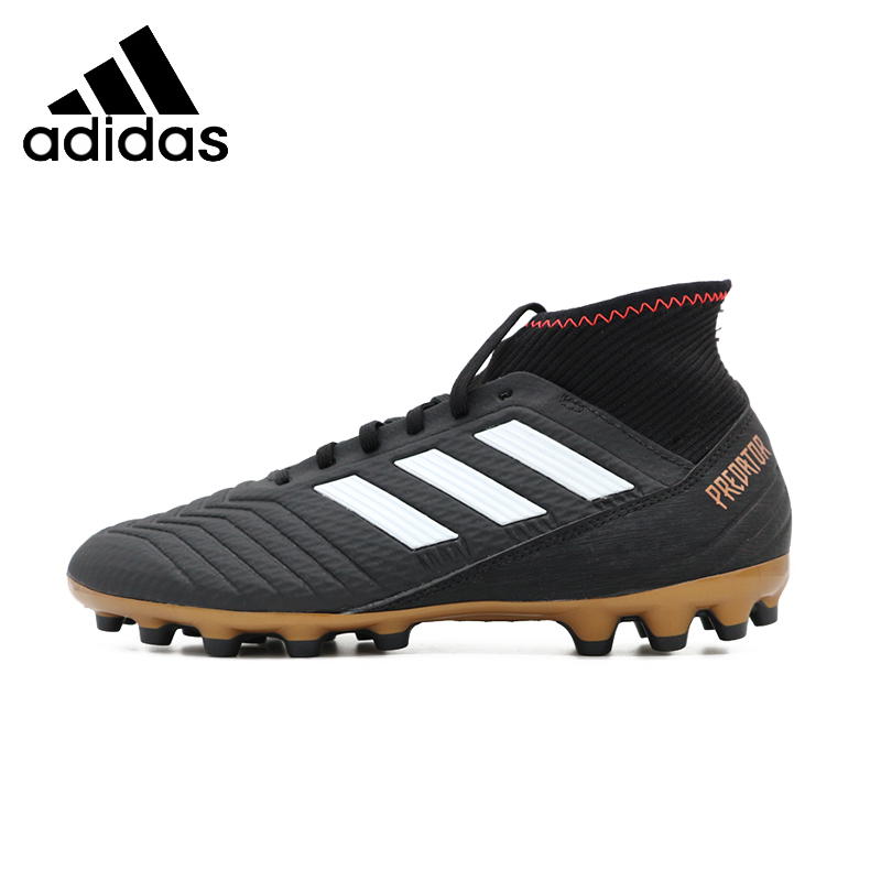 ADIDAS Predator18.3 AG New Arrival Mens Soccer Breathable Lightweight Support Sports Short Nail Sneakers For Men Shoes#CP9306 adidas original new arrival official neo women s knitted pants breathable elatstic waist sportswear bs4904