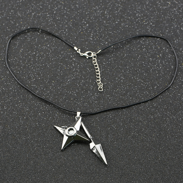 Shuriken Dart Necklace