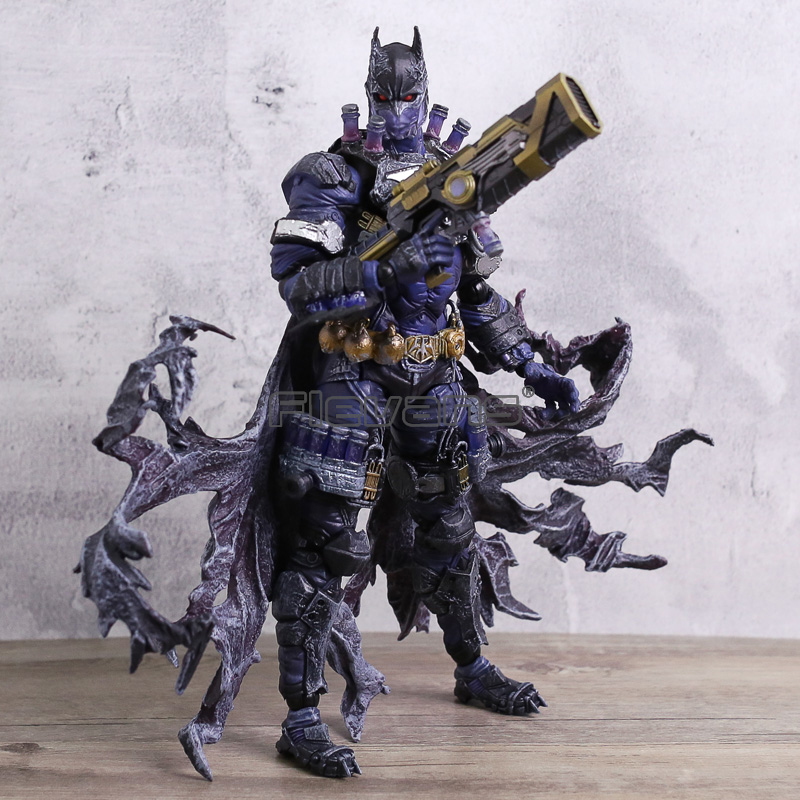 Play Arts Kai Series Batman Rogues Variant Gallery Mr. Freeze PVC Action Figure Toy Batman Collectible Model Gift gogues gallery two face batman figure batman play arts kai play art kai pvc action figure bat man bruce wayne 26cm doll toy