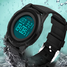 цена на Super Slim Sport Watch For Men Top Brand Luxury Electronic LED Digital Wrist Watches 2019 Best Sale Male Clock Relogio Masculino