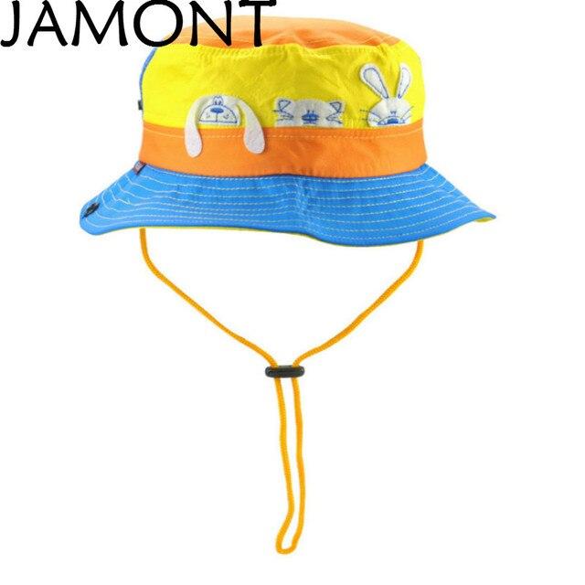 Jamont] lindo grande ancho BRIM niños cubo sombrero conejo de ...