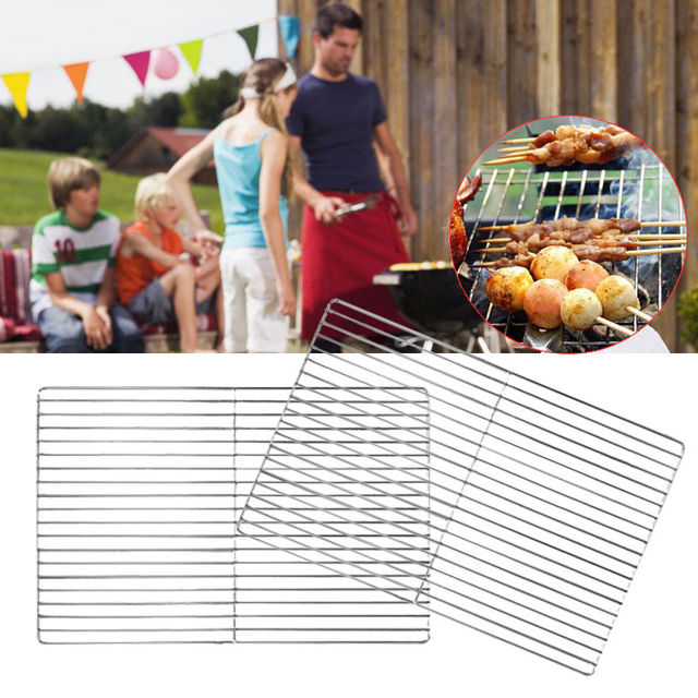 BBQ Stainless Steel ROD Replacement Cooking Grill Grid Grate