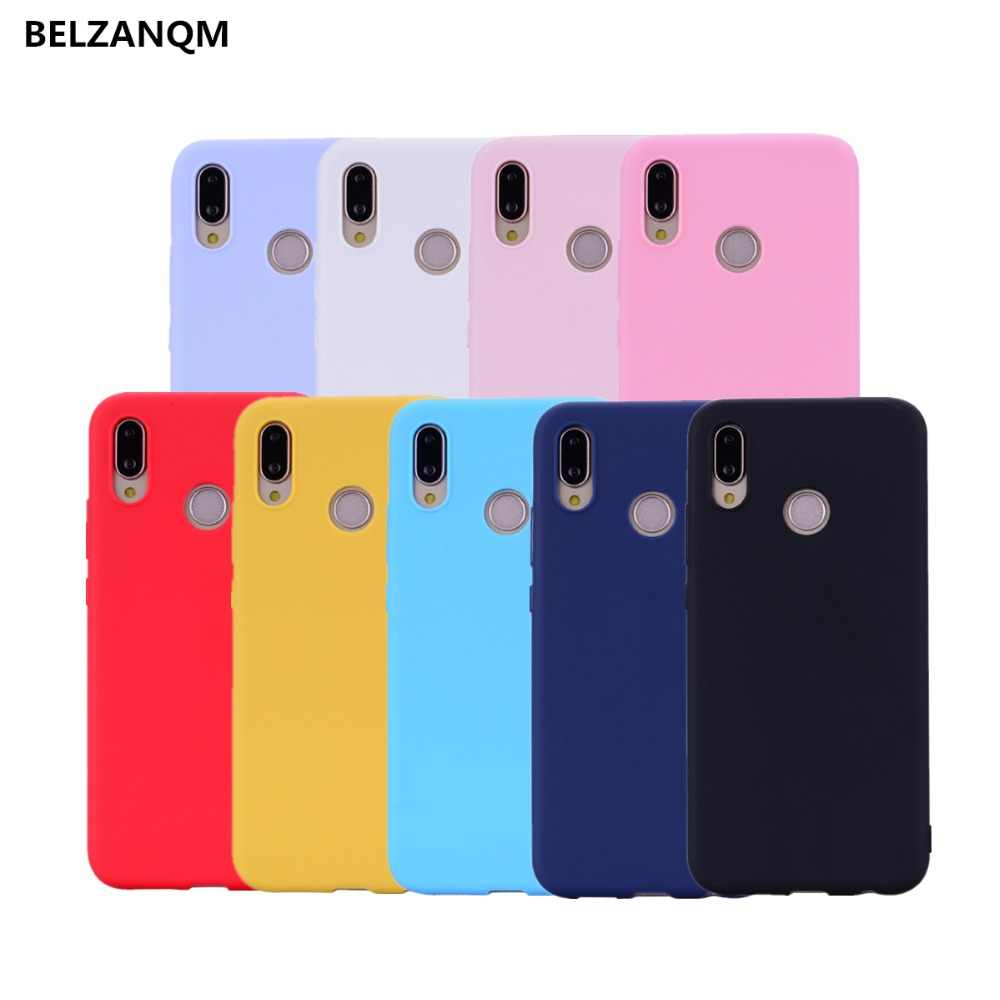 For Huawei Nova 3i P Smart Plus P20 P10 P9 P8 Lite 2017 Mate 9 10 20 Lite Candy Color Cases on the Honor 8 9 lite Soft TPU Cover