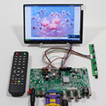 "HDMI+VGA+BNC+USB+Audio LCD controller board JX-V2959-AVM+7"" N070ICG-LD1 1280x800 IPS lcd panel+Remote controller"