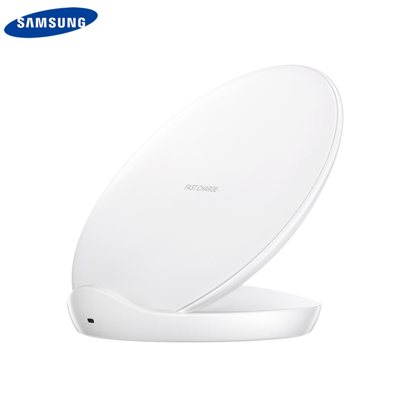 Original Samsung Wireless Charger QI Fast For Galaxy S8 S8 Plus SM G9500 S9 S10E S10 S7 IPhone8 XR IPhone XS MAX Mate20 EP 5100 in Chargers from Consumer Electronics