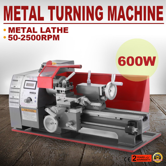 US $754 38 11% OFF|Mophorn Metal Lathe 7 x 12 Inch Precision Mini Lathe  2500 RPM 600W Mini Metal Lathe Variable Speed Milling Benchtop Wood  Lathe-in