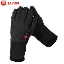 Перчатки с электроподогревом для мужчин и женщин тонкие зимнего