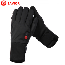 Savior S-11 Heated Glove Liner For Winter Season,Outdoor Sports, Ski, Biking, Riding,Hunting,Golf,Warmth,Christmas Gift savior full leather heated glove shgs06b with 3 levels control for outdoor sports ski golf riding race gift au nz us eu uk plug