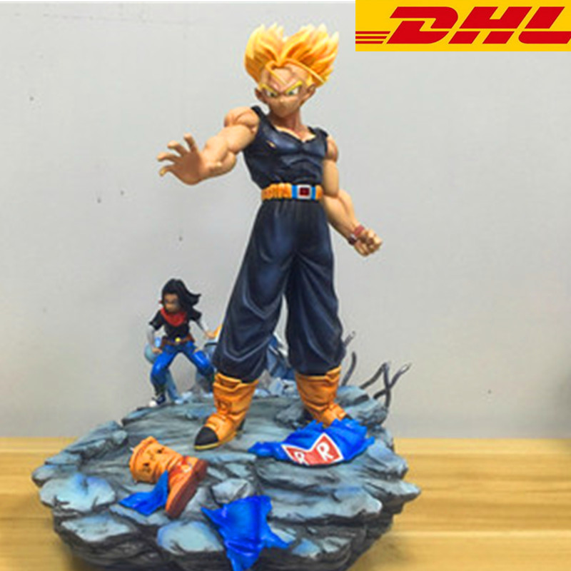 Dragon Ball Torankusu 1:6 (LIFE SIZE) Model Resin GK Full-Length Portrait Decoration Crafts Exquisite Collectible Model Toy T120 plastic standing human skeleton life size for horror hunted house halloween decoration