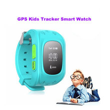 Children Smart Safe OLED Kids GPS Watch SOS Call Wristwatch Child Finder Locator Tracker Baby Anti Lost Monitor SeTracker Q50