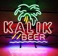 На заказ Kalik пивная Палма лагер стеклянная неоновая световая вывеска пивной бар