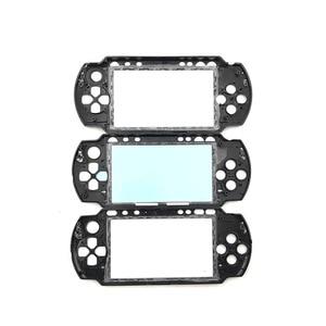 Image 3 - שחור קדמי לוחית פגז מקרה כיסוי Proctector החלפה עבור PSP 1000 2000 3000