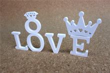 Креативный домашний декор деревянные буквы алфавита 8 см для