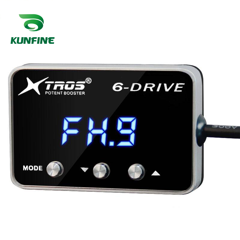 KUNFINE Car Electronic Throttle Controller Racing Accelerator Potent Booster Tuning Parts Accessory For HYUNDAI GENESIS 2009 2010 2011 2012 2013 2014 2015 2016 2017 2018 2019