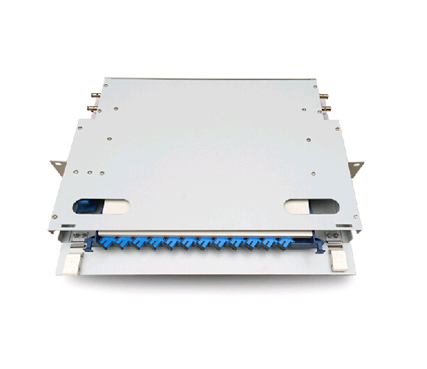19 inch 12 core ODF optical fiber distribution frame 12 port core fiber patch panel ODF By DHL