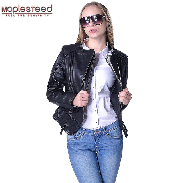 Aliexpress.com : Buy Factory Genuine Leather Jacket Women Real ...