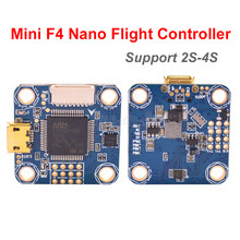 Mini F4 Nano Flight Controller Board Support 2S-4S SBUS PPM 20x20mm Mounting Hole size For RC FPV Racing Cross Drone Quadcopter(China)
