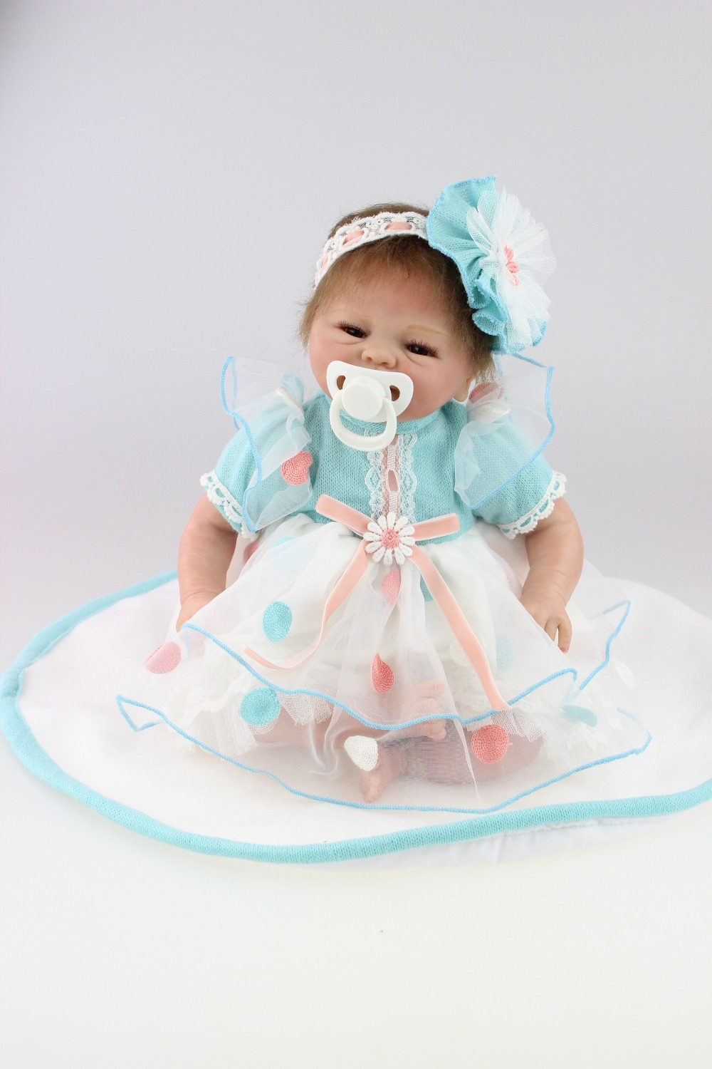 NPKCOLLECTION More Real Gentle Touch Reborn Doll Baby Girl Gift 16 Realistic Silicone Newborn Babies 29inch silicone reborn babies realistic newborn baby doll lifesize doll baby real baby girl toys christmas gift page 1
