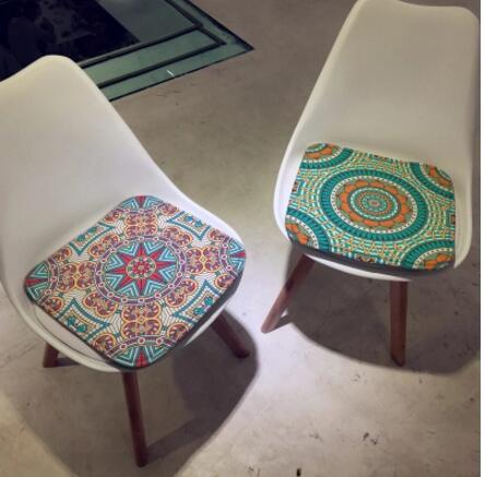 Galleria fotografica Vintage etnico lattice cuscino ufficio imbottita sedia cuscino del divano cuscino sedia di gioco sgabello cuscino auto