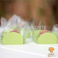 Apple Green birthday party decorations kids party supplies cake wrappers chocolate box orminhas para doces 50pcs/lot AW-0515