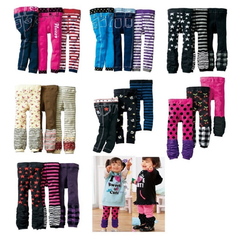 Fashion Baby Girls Leggings Boot Pants All for kids clothes and accessories Boys Pants Legging for Girls Jeans children clothing 1