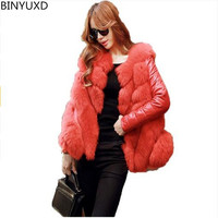 2016 Newest Fashion High Quality Elegant Women S Faux Fur Coat Grass Woman S Jacket Winter