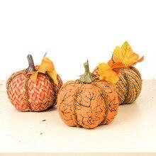 Handmade Pumpkin decor (3pcs)