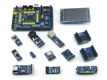 STM32 Board STM32F103ZET6 STM32F103 ARM Cortex-M3 STM32 Development Board +  12pcs Accessory Module K