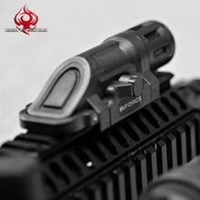 INFORCE Weapon Tactical LED Light For Airsoft Night Evolution Weapon Flashlight Picatinny Mount Accessories NE04019