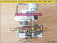 TD06-7 49179-02711 49179-02713 ME303063 ME304031 Turbo Turbo Mitsubishi Fuso Için FK61FK FM65F 2004-6M60 17 T 3AT EURO 4