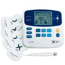 Brands XFT-320 Dual Tens Machine Digital Massager Massage Electrode Pad Acupuncture Pen Body Foot Massage Device Pain Relief
