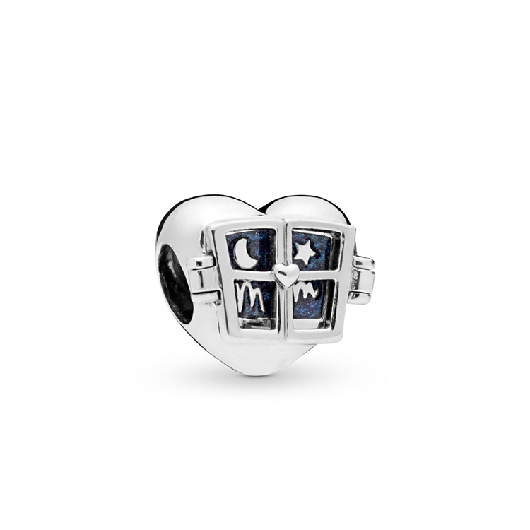2019 Mothers Day New 925 Sterling Silver Window Hearts Beads Charms Fit Original Pandora Bracelet Authentic Jewelry2019 Mothers Day New 925 Sterling Silver Window Hearts Beads Charms Fit Original Pandora Bracelet Authentic Jewelry