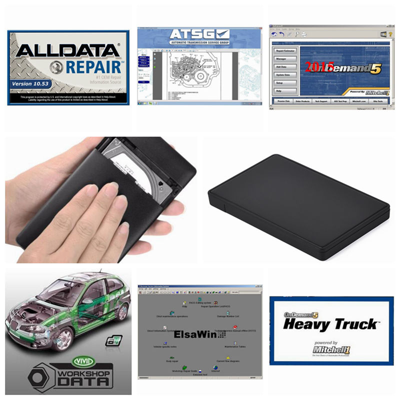 2018 Alldata Software 10.53 all data and mitchell ondemand 2015+heavy truck+vivid all data software 49in1TB HDD Wins 7/8/10/xp alldata and mitchell software alldata 10 53v auto repair software mitchell ondemand 2015v vivid workshop data manager plus